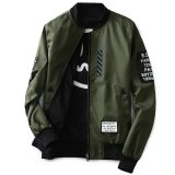 Buy Grandwish Men Double Sided Wear Jacket Bomber Jackets Letter Print Coat M 4Xl Oem Online
