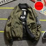 Grandwish Women Korean Design Coat 2 Side Wear Bomber Jacket Plus Size M 4Xl Army Green Intl Best Price