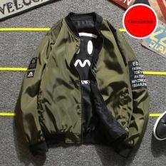 Grandwish Women Korean Design Coat 2 Side Wear Bomber Jacket Plus Size M 4Xl Army Green Intl Sale