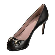 Price Gucci Gisele Open Toe Black Gucci Singapore