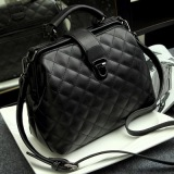 Discount Japan And South Korea Free New Style Mini Quilted Bag Handbag Black Black China