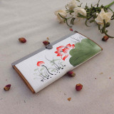 Cheapest Chinese Style Hand Painted Hook Bag Fresh Lotus Online