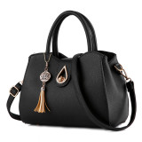 Low Cost Women S Leather Shoulder Bag Black Black
