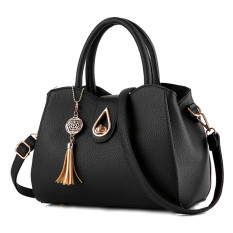 Discount Women S Leather Shoulder Bag Black Black