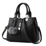 Discount Ladies Messenger Diagonal Handbag Black Upgrade Paragraph Oem