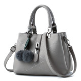 Best Rated Ladies Messenger Diagonal Handbag Light Gray Upgrade Section