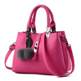 Review Ladies Messenger Diagonal Handbag Rose Color Upgrade Paragraph Oem On China