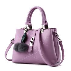 Compare Price Ladies Messenger Diagonal Handbag Violet Upgrade Section Oem On China