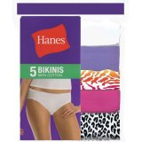 Purchase Hanes Women Cotton B*k*n* Panties 5 Piece Pack Assorted