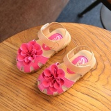 Sales Price Hang Qiao Children Girls Shoes Pu Leather Fashion Sandals Hotpink Intl
