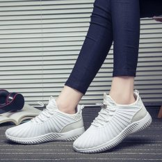 Sale Hang Qiao Mesh Breathable Running Shoes Sport Sneaker White Intl China