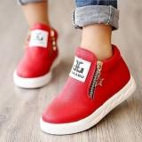 Best Price Hang Qiao New Children S Martin Boots Fashion Low Cylinder Baby Shoes Red Intl