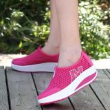 Where To Buy Hang Qiao New Height Increasing Shoes Casual Women Wedges Shoes Hotpink Intl