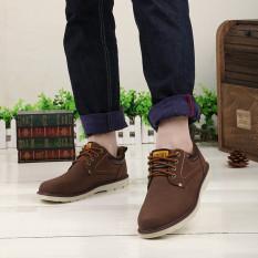 Sales Price Hanyu Men S Fashion Patchwork Winter Warm Low Cut Shoes Coffee Intl