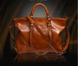 Buying Hanyu Women Lady Fashion Vintage Pu Leather Simple Solid Big Shoulder Bag Tote Bag Brown Intl