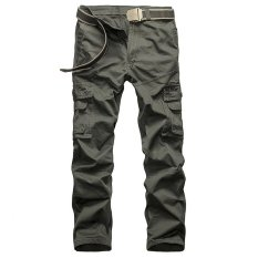 Happy Buy Tactical Pants Men Cotton Military Cargo Pants City Spring Army Combat Cargo Pants Casual Soldier Train Trousers Multi Pockets Intl Lowest Price