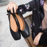 Compare Price Harajuku Girls Autumn New Nai Xie Shoes Black Black On China
