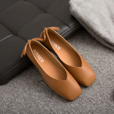 Discount Harajuku Girls Autumn New Nai Xie Shoes Brown Brown Other China