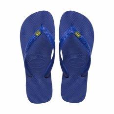 Sale Havaianas Brazil Marine Blue Flip Flop Bra 41 42 Intl Havaianas Online