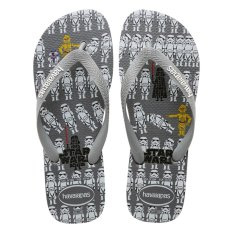 Cheapest Havaianas Star Wars Steel Gray Flip Flop Bra 41 42 Intl