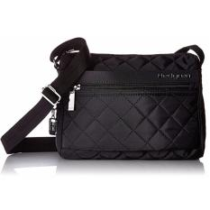 a9adb80ad8a Hedgren women's bag Diamond Touch Carina shoulder sling crossbody bag  quilted Black