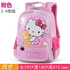 Hello kitty School Bag Young Student s Girl S 1-3-4 Grade Hello Kitty Korean e815d6321322f
