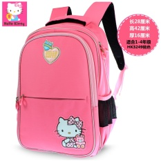 Hello Kitty Schoolbag for Elementary School Students Girl S 2-3-5 Grade  Light Spinal 6a7e6e5294c11