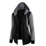 Price Hequ Hoodie Women Sweatshirt Long Sleeve Pocket Loose Shirt Top Tracskuit Women Hoodies Sweatshirts Black Intl Hequ Original