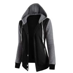 Hequ Hoodie Women Sweatshirt Long Sleeve Pocket Loose Shirt Top Tracskuit Women Hoodies Sweatshirts Black Intl Lowest Price