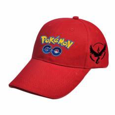 0fab2006a56 Hequ new chic Fashion Pokemon Pokemon Baseball Cap Custom Zapdos Articuno  Flame Bird Hat Red -