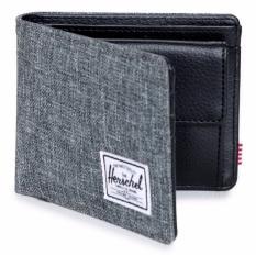 Herschel Hank Coin Wallet – Raven Crosshatch/Black