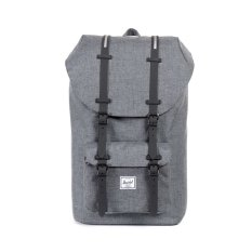 Best Herschel Supply Co Charcoal Crosshatch Rubber Black Full Volume