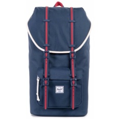 Store Herschel Supply Co Little America Full Volume Home Navy Backpack 23 5L Herschel Supply Co On Singapore