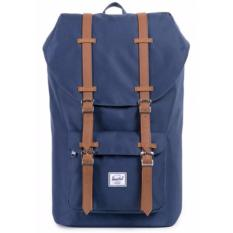 Where Can You Buy Herschel Supply Co Little America Full Volume Navy Backpack 25L