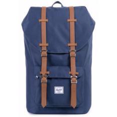Who Sells Herschel Supply Co Little America Full Volume Navy Backpack 25L Cheap