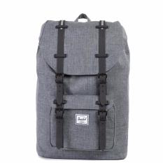 Who Sells The Cheapest Herschel Supply Co Little America Mid Volume Charcoal Crosshatch Rubber Backpack 16 5L Online