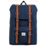 Deals For Herschel Supply Co Little America Mid Volume Navy Backpack 16 5L