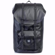 Get Cheap Herschel Supply Co Little America Studio Poly Coat Backpack Full Volume Black 25L