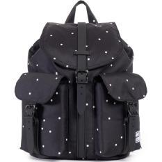 Herschel Supply Co Mini Size Dawson Backpack Polka Dot Scattered Black Black Rubber Free Shipping