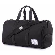 Price Herschel Supply Co Novel Duffel Bag Black Black 42 5L On Singapore