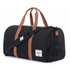 Who Sells Herschel Supply Co Novel Duffel Bag Black Tan 42 5L Cheap