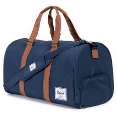 Price Herschel Supply Co Novel Duffel Bag Navy Tan 42 5L Herschel Supply Co Singapore