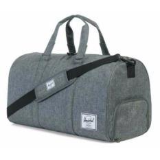 Buy Herschel Supply Co Novel Duffel Bag Raven Crosshatch 42 5L Herschel Supply Co Original