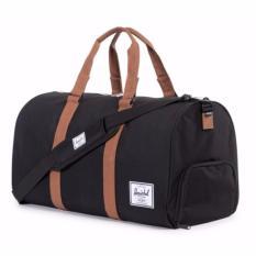 Herschel Supply Co Novel Duffle 42 5L Training Bags Black Tan Best Buy