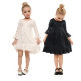 Buy High End Children G*rl S Lace Wedding Dresses Party Little Bridemaid Birthday Clothes Gift For Kids Intl Online