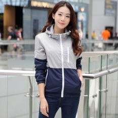 Discount High Quality Fast Delivery Ladies Men S Outdoor Sports Jacket Casual Thin Coat Waterproof Sun Uv Light And Light Windbreaker Quick Drying Jacket Grey Intl Oem On China