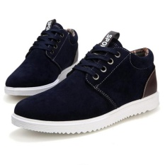 Best Price High Quality Fast Deliveryfashionistas Men Comfortable Casual Shoes Dark Blue Intl