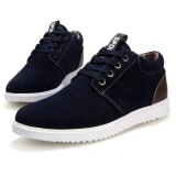 Best Buy 【High Quality Fast Delivery】Fashionistas Men Comfortable Casual Shoes Dark Blue Intl