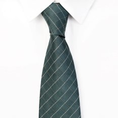 Purchase High Quality Men S Fashion Plaid Neckties Green Ties Intl Online