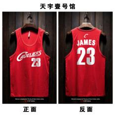 Sale Hip Hop James Owen 23 Basketball Sports Hurdles Vest Summer Tide Loose Cool Sleeveless T Shirt Men And White Account For James 23 No Vest Red Online China